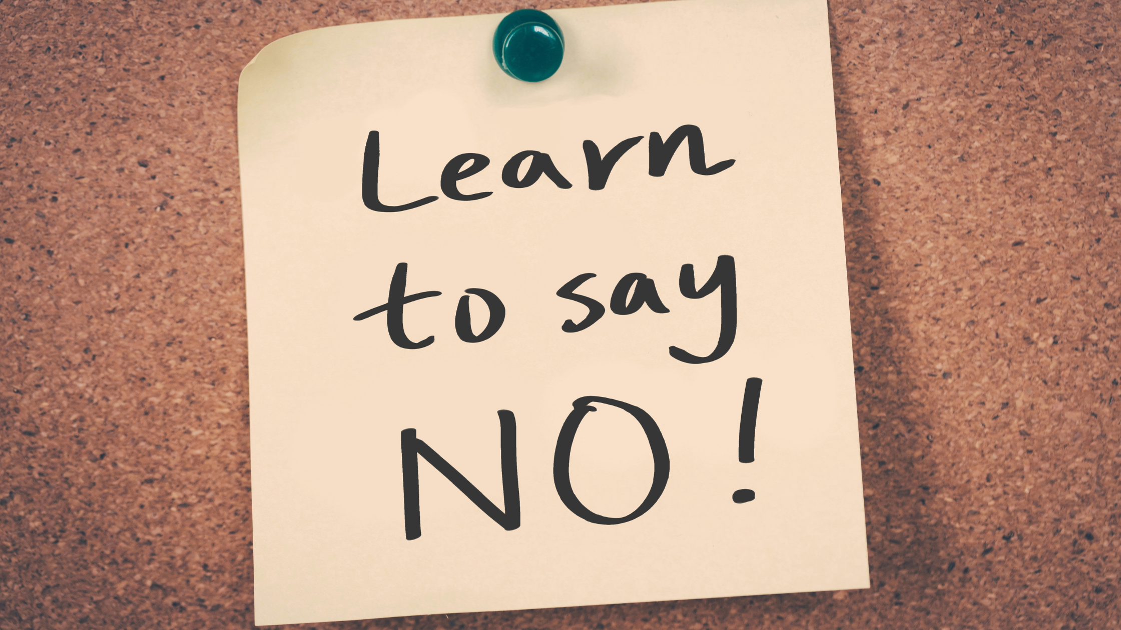 Apprendre à dire non aux prospects qui ne sont pas dans votre niche