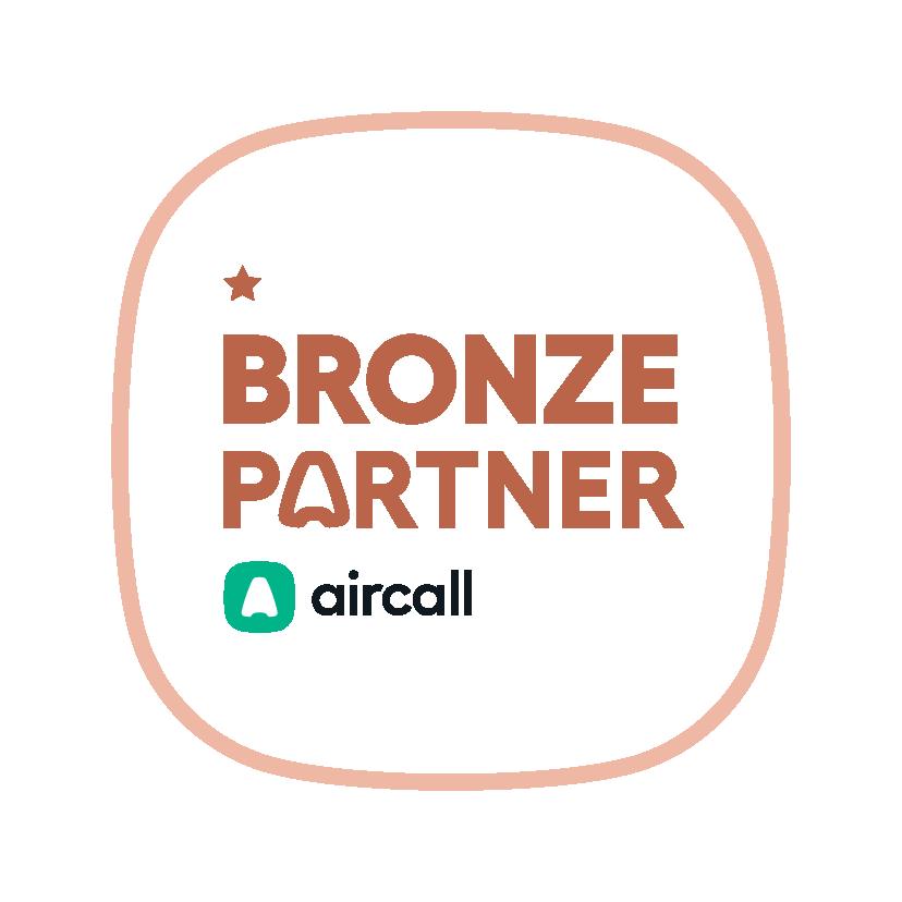 Aircall Partner Badge Bronze
