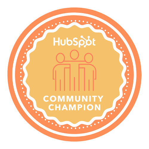 HubSpot-Community-Champion-Badge